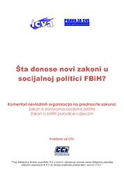 Šta donose novi zakoni u socijalnoj politici FBiH