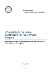 Novi metodi ciljanja za BiH-a: Drugi dio