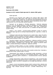 UN Rezolucija 1325, žene, mir i sigurnost