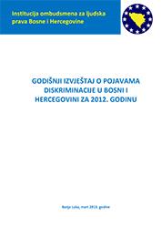 Godišnji izvještaj o pojavama diskriminacije u BiH