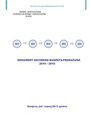 Dokument okvirnog budžeta – 2014 – 2016