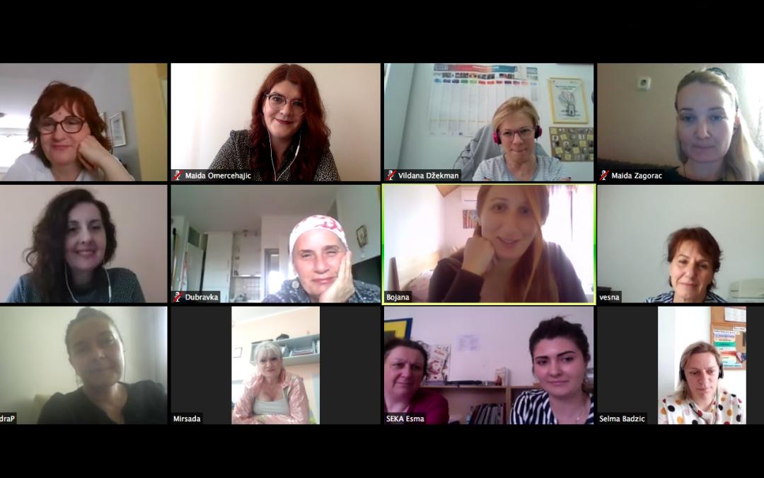 Sastanak Ženske zagovaračke grupe