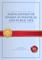 Participation of women in political and public life