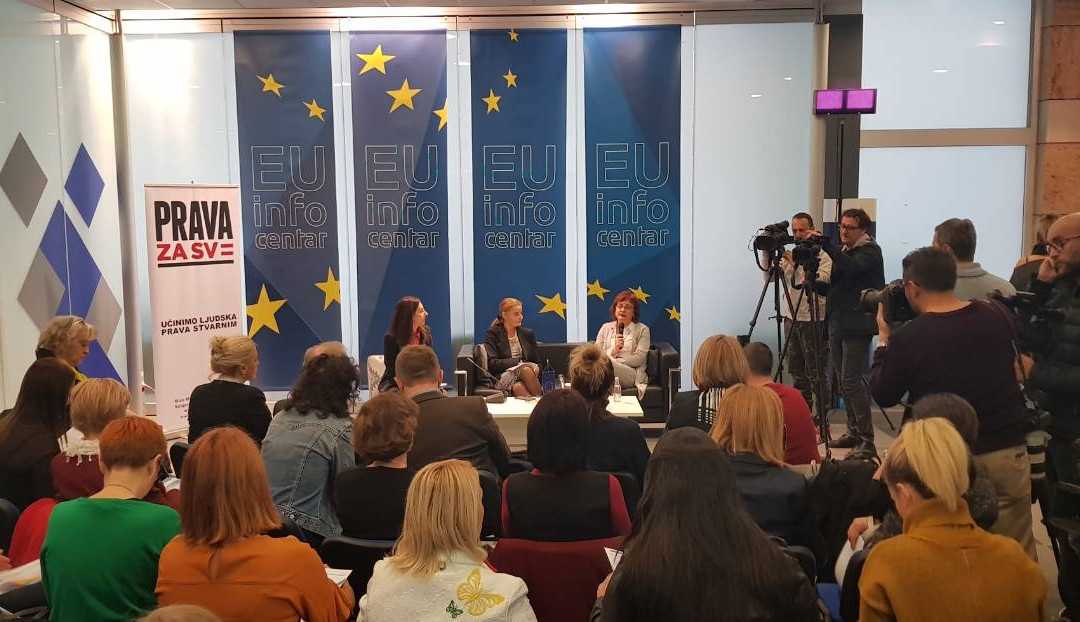 "Public promotion of the document ""HOW TO ENSURE GENDER EQUALITY THROUGH THE PROCESS OF EU INTEGRATION?"""